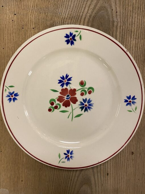 Fransk tallerken fra Badonville