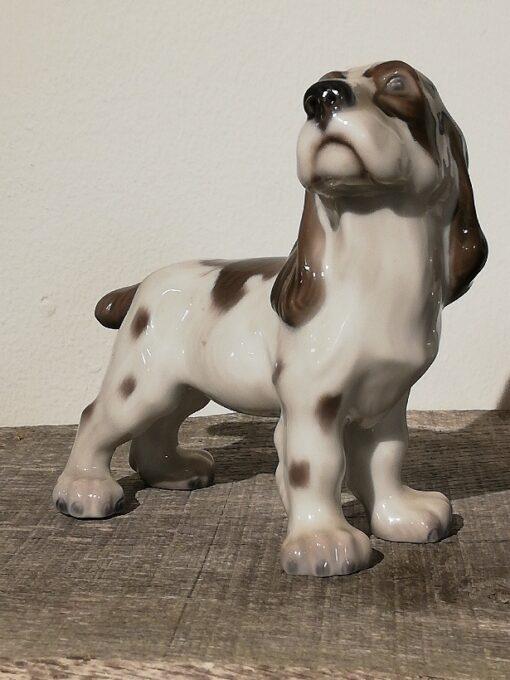 Lyngby Porcelænsfigur Cockerspaniel Nr. 72